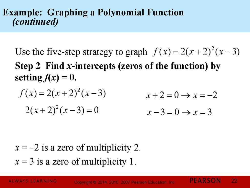 Polynomial and Rational Functions Worksheet Answers and Chapter 3 Polynomial and Rational Functions 32 Polynomial