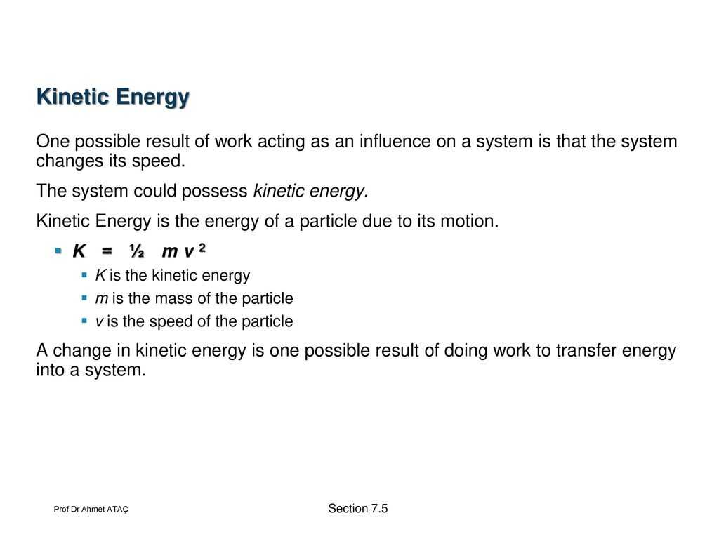 Potential and Kinetic Energy Worksheet Answer Key or Work and Kinetic Energy Ppt
