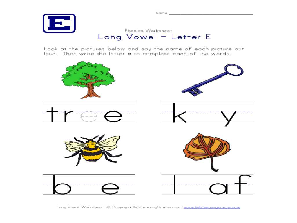 Preschool Reading Worksheets Along with Workbooks Ampquot Long Vowel E Worksheets Free Printable Workshe