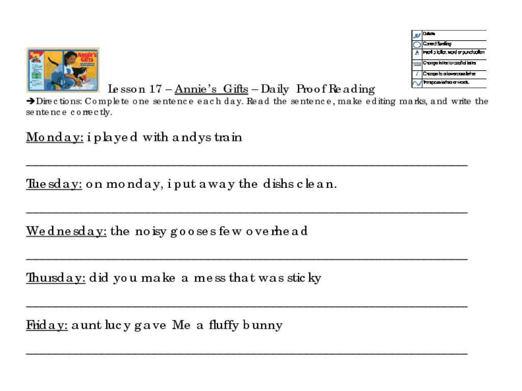 Sentence Correction Worksheets 2nd Grade