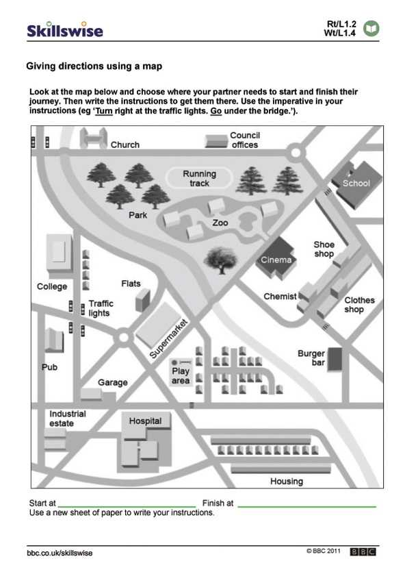 Reading A Map Worksheet Pdf Also Reading Maps Worksheet the Best Worksheets Image Collection