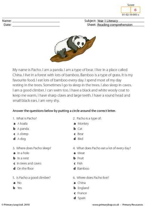 Reading Comprehension Worksheets 7th Grade and 53 Best Prehensions Primary Leap Images On Pinterest