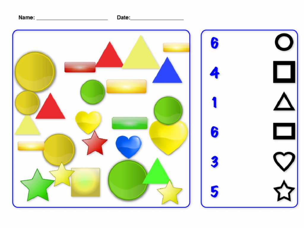 Rhombi and Squares Worksheet Answers and Free Number and Shapes Printable Shelter
