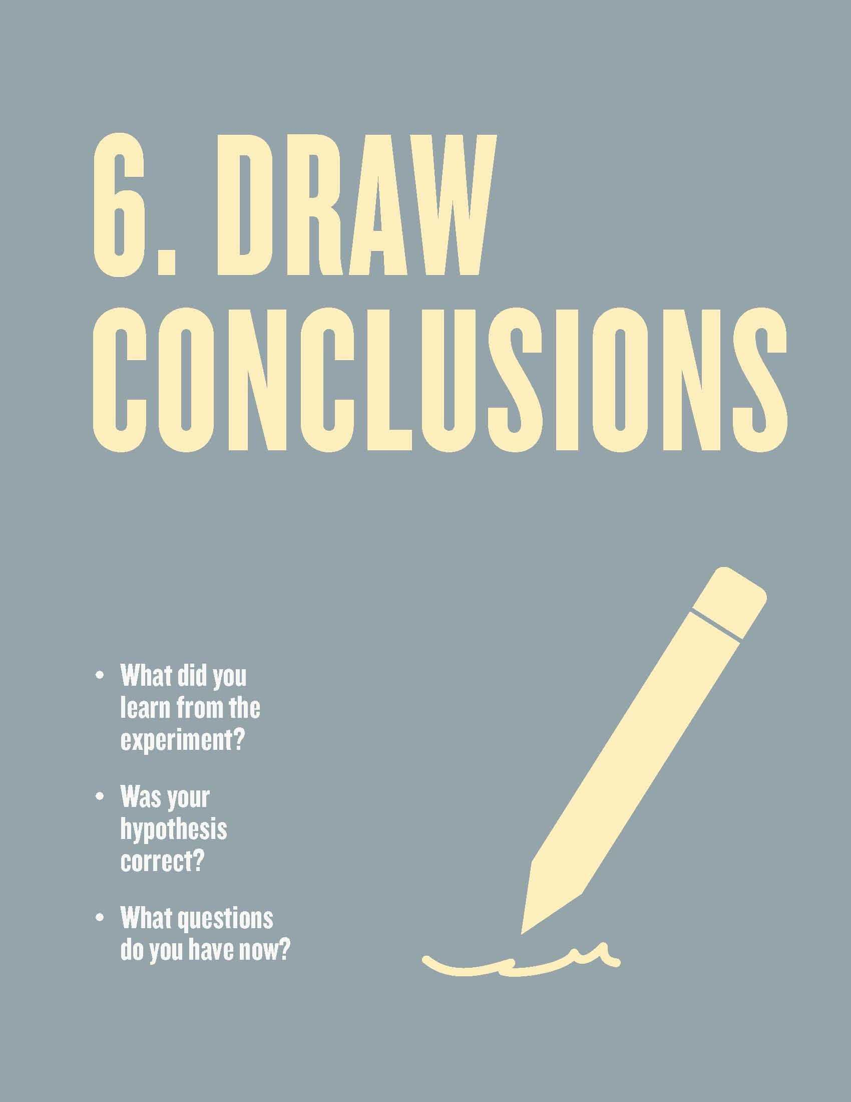Scientific Inquiry Worksheet Answers Also Free Scientific Method Posters for the Classroom Step 6 Draw