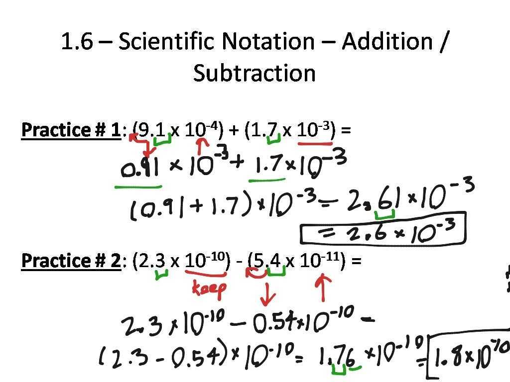 Sequences Worksheet Answers Along With Scientific Notation