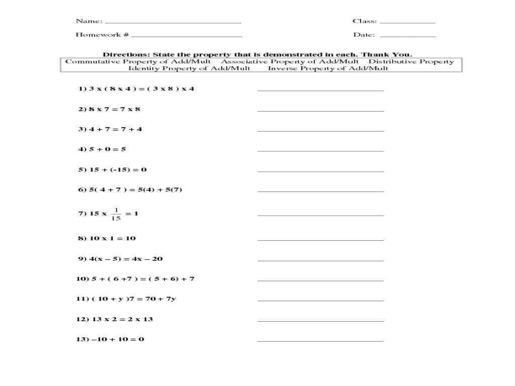 Sharkwater Video Worksheet Answers with Properties Multiplication Worksheet Cadrecorner