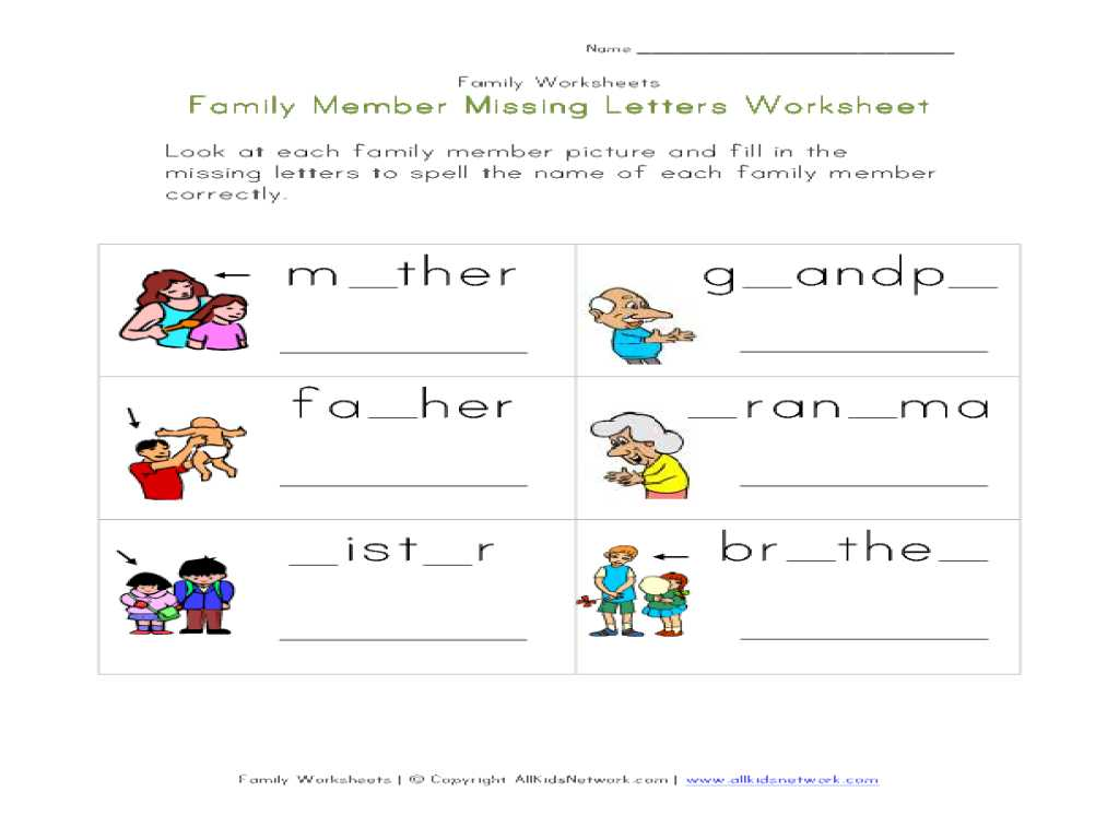 Social Emotional Worksheets and Chic Family Worksheets for Kindergarten Also Worksheet My Fa