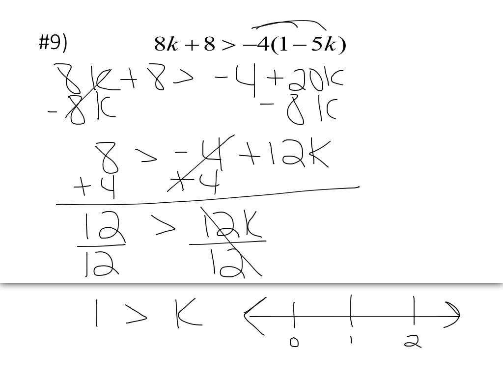 Solve and Graph the Inequalities Worksheet Answers Also solving Equations and Inequalities Worksheet Super Teacher