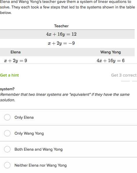 Solving Equations with Variables On Both Sides with Fractions Worksheet together with Systems Of Equations with Elimination and Manipulation Video