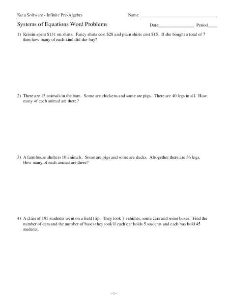 Solving Systems Of Equations by Substitution Word Problems Worksheet together with Best solving Systems Equations by Substitution Worksheet