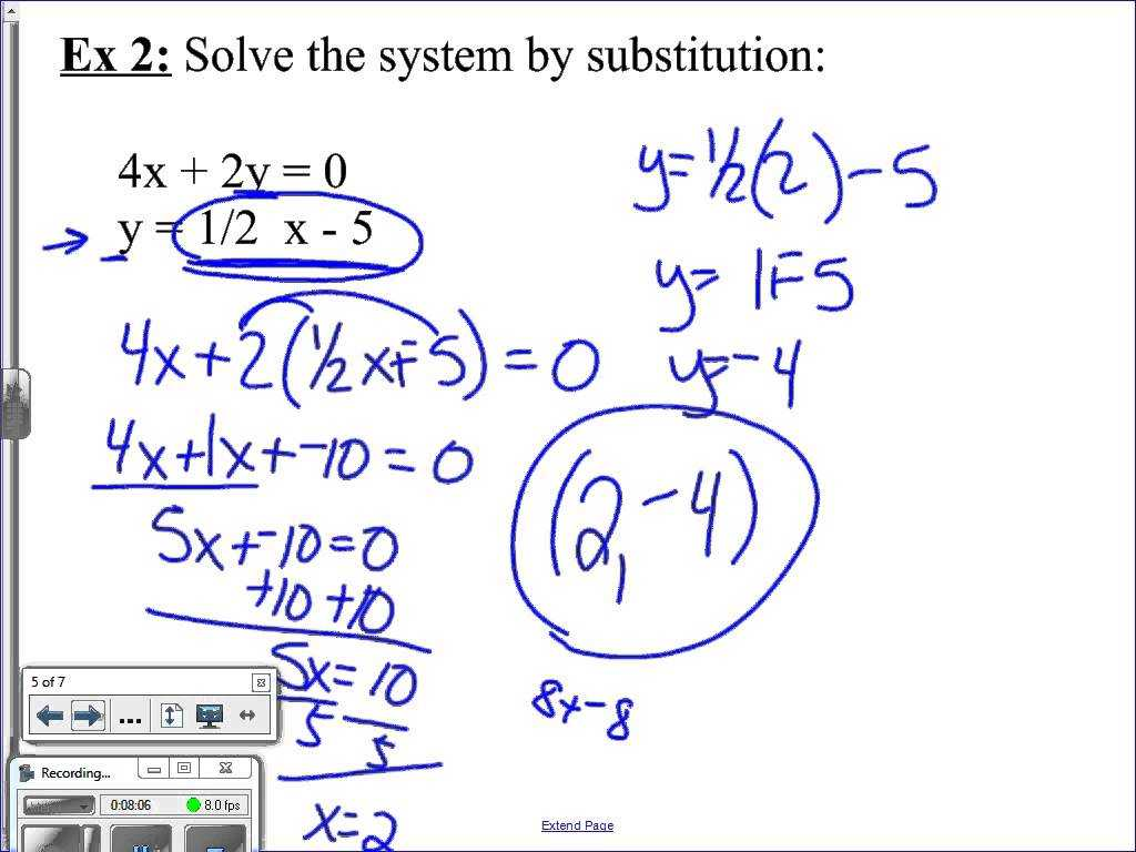 Solving Systems Of Linear Equations by Substitution Worksheet with Free Worksheets Library Download and Print Worksheets Free O
