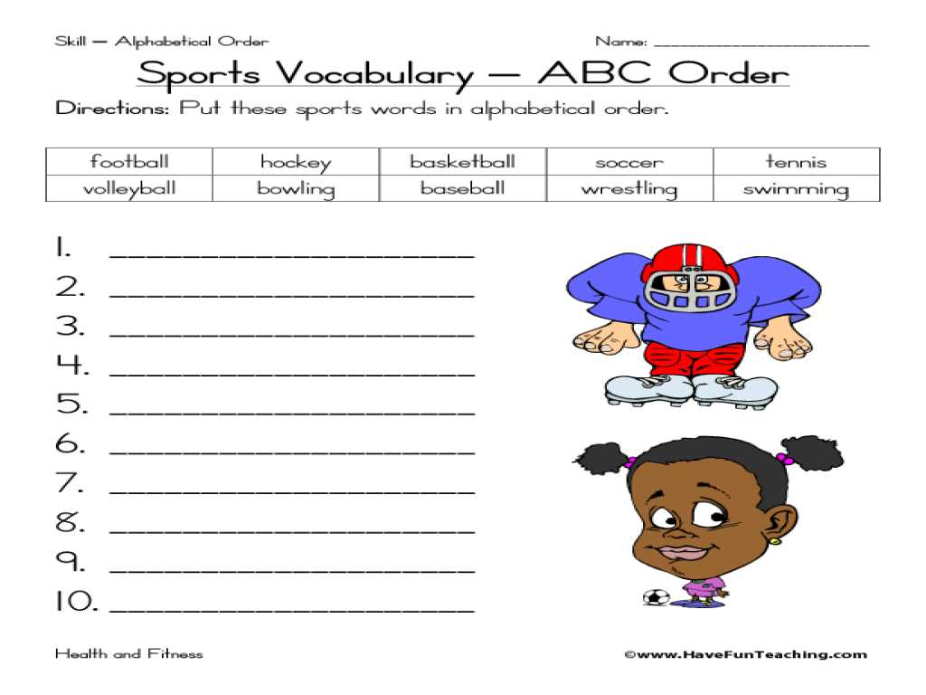 Spanish for Adults Free Worksheets Also Workbooks Ampquot Sports Worksheets Free Printable Worksheets Fo