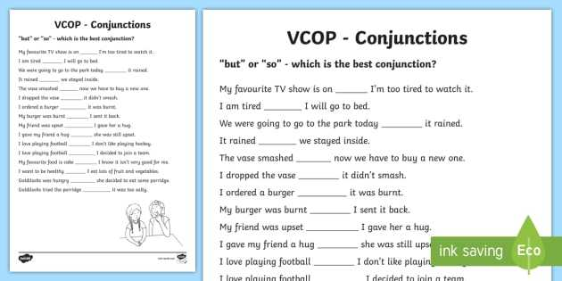 Survival Signs Worksheets Along with but and so Conjunctions Worksheet Activity Sheet