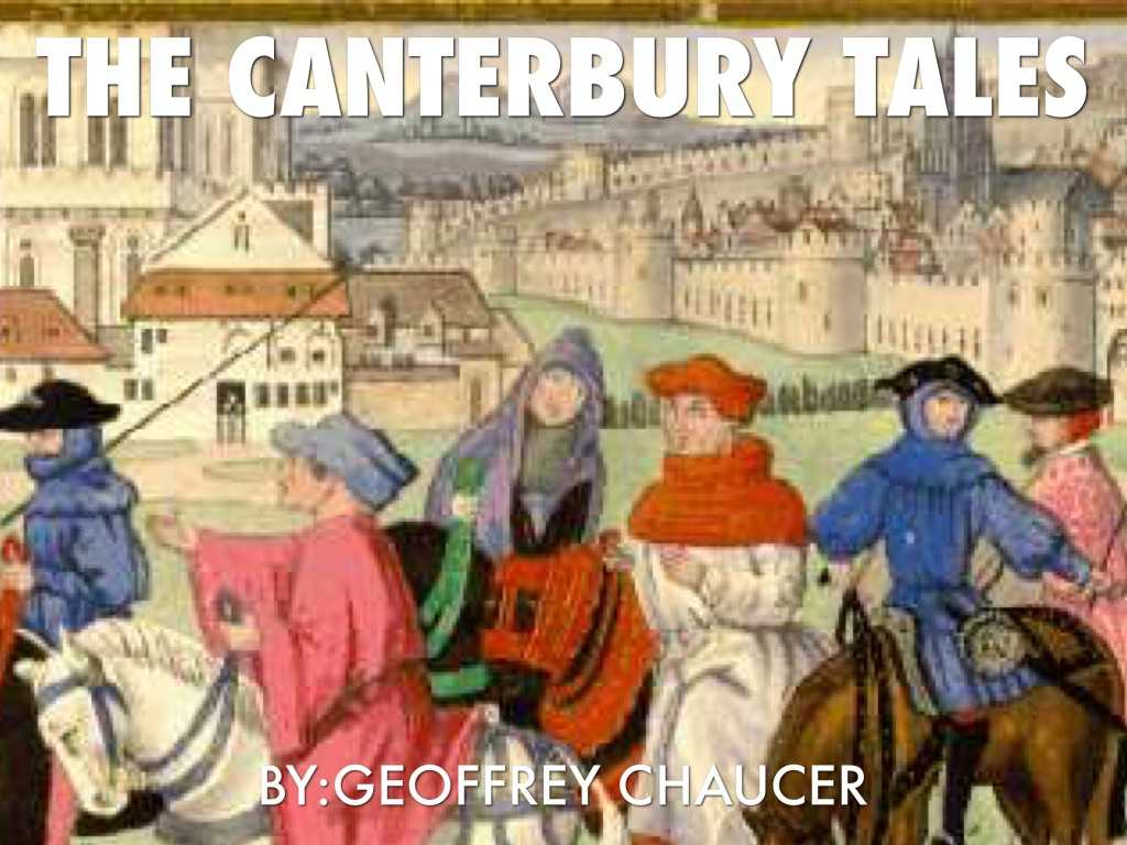 The Canterbury Tales the Prologue Worksheet as Well as Presentations and Templates by