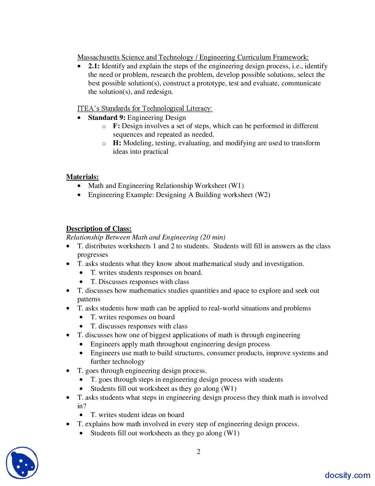 The Engineering Design Process Worksheet Answers Along with Engineering Process Worksheet Image Collections Worksheet Math for
