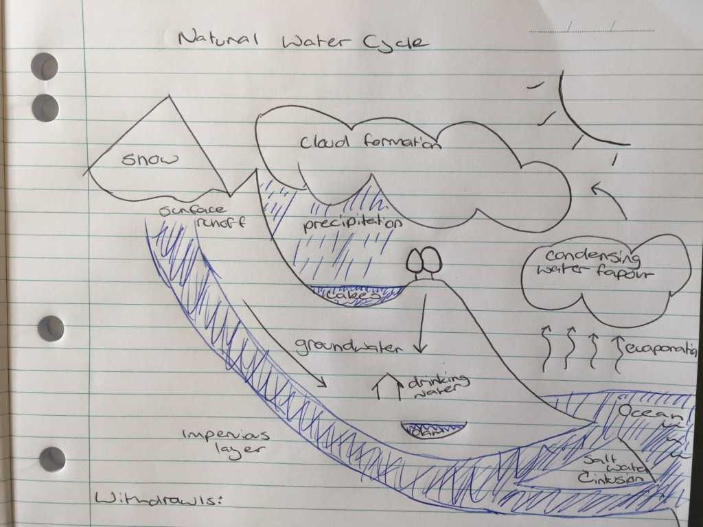 The Water Cycle Worksheet Answer Key together with Water Cycle Diagram T