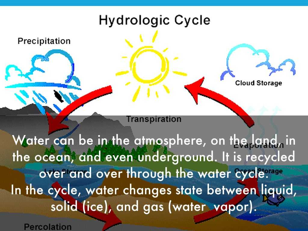 The Water Cycle Worksheet Answer Key with Water Cycle by Frank Garcia