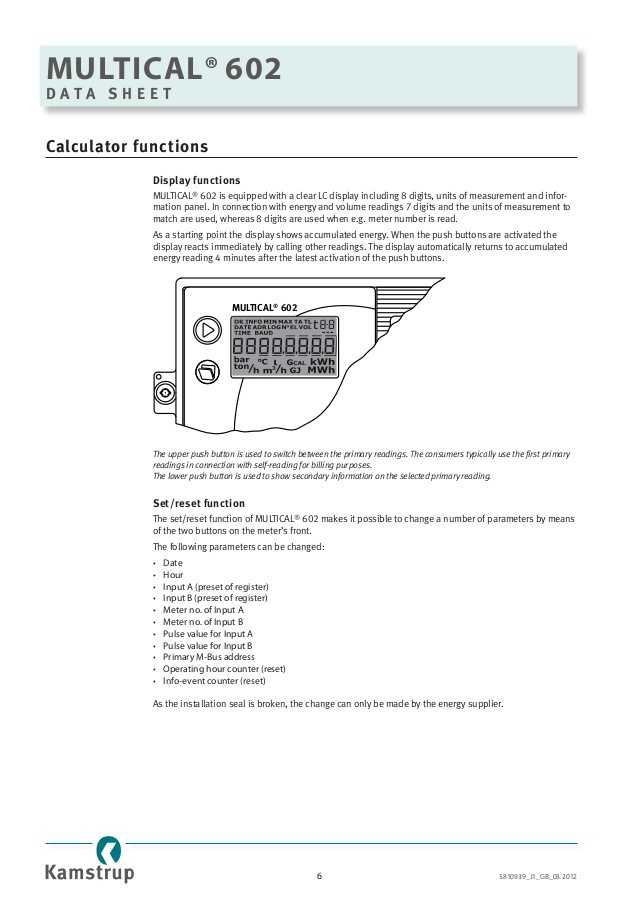 Thermal Energy Note Taking Worksheet Answers Along with Kamstrup Rhi Pliant Heat Meters & thermal Energy Measurement Mul…