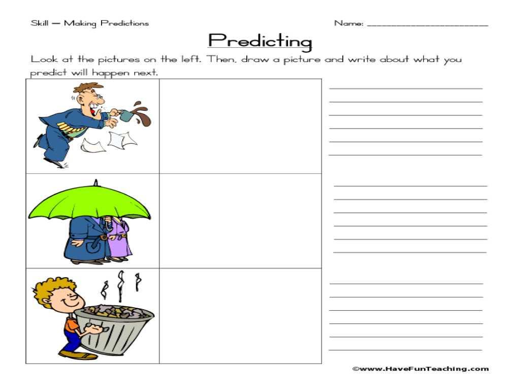 Transportation Worksheets for Preschoolers as Well as Making Predictions Worksheet Cadrecorner