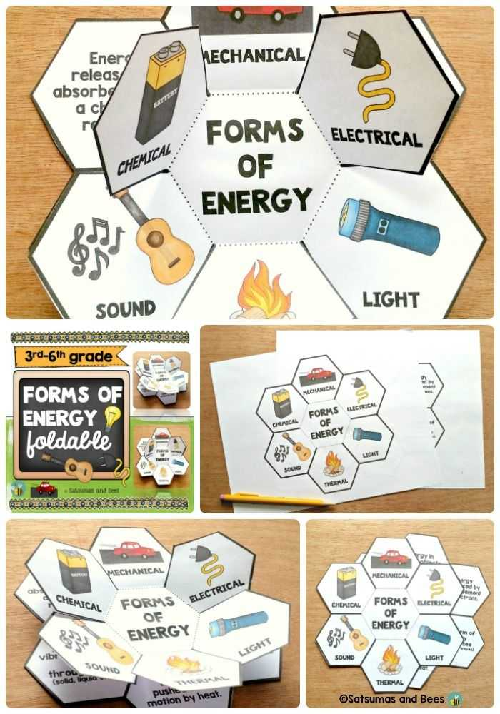 Types Of Energy Worksheet and 57 Best forms Of Energy Images On Pinterest