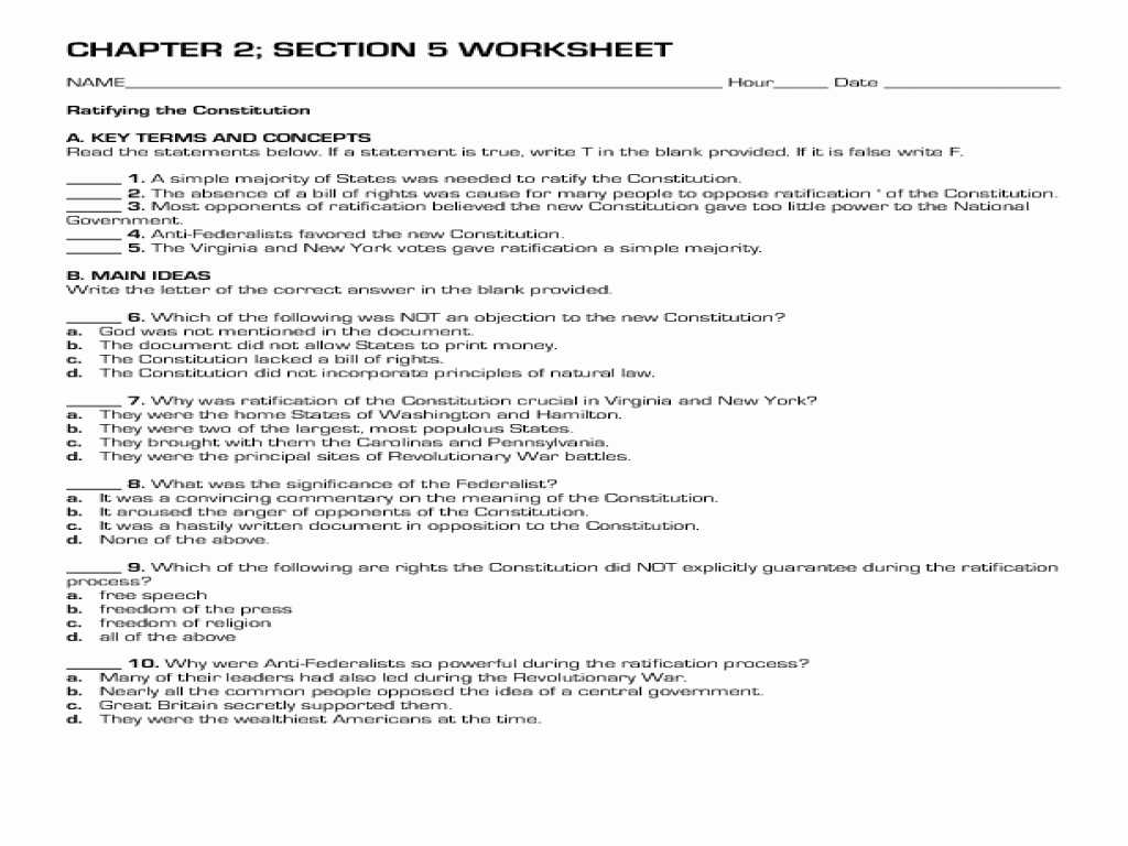 Unit 1 Resources Fiction and Nonfiction Worksheet Answers Also Analysis the Constitution Worksheet Answers Worksheet Res