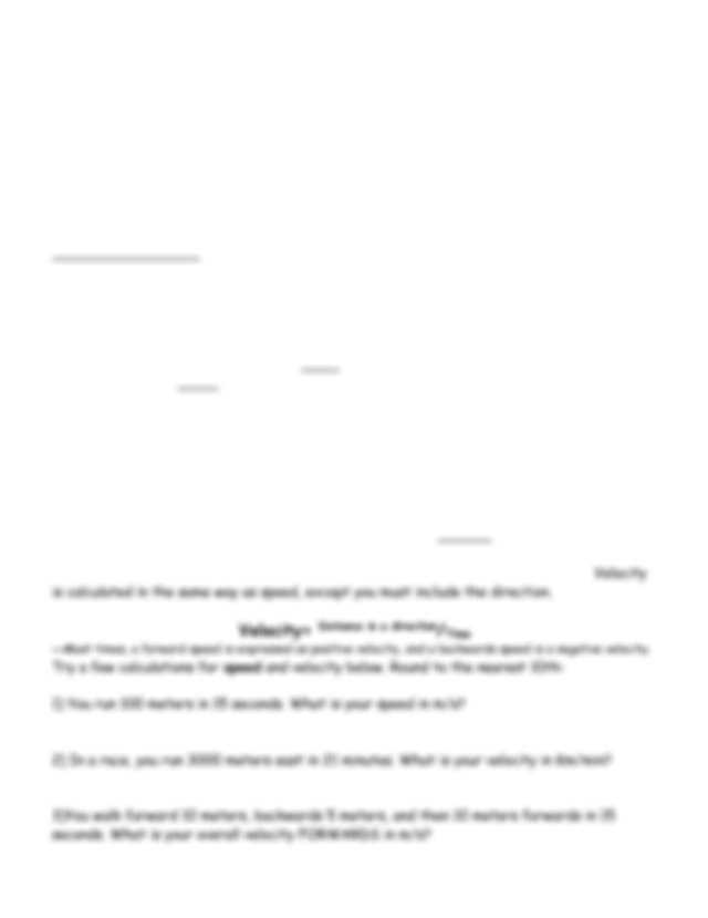Velocity and Acceleration Worksheet Along with Speed and Velocity Worksheet Middle School Worksheet Math