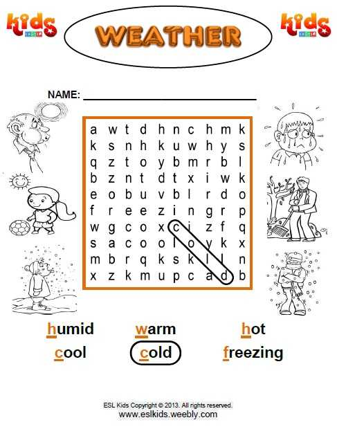 Weather Worksheets for 1st Grade with Elementary Weather Worksheets the Best Worksheets Image Collection