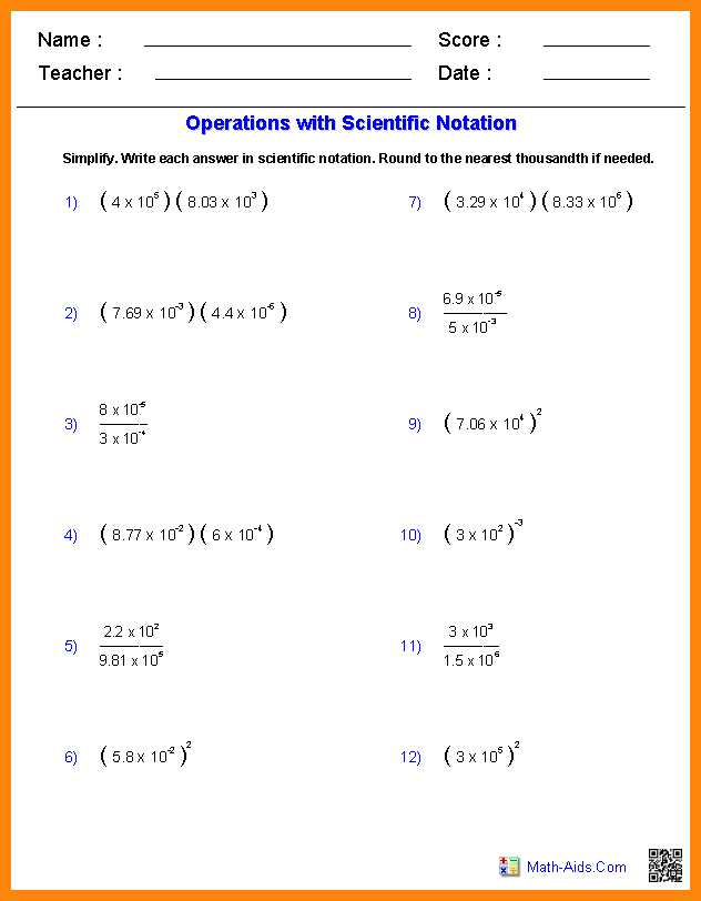 Worksheet 2 Scientific Notation Answers together with Scientific Notation Biology Worksheet Kidz Activities