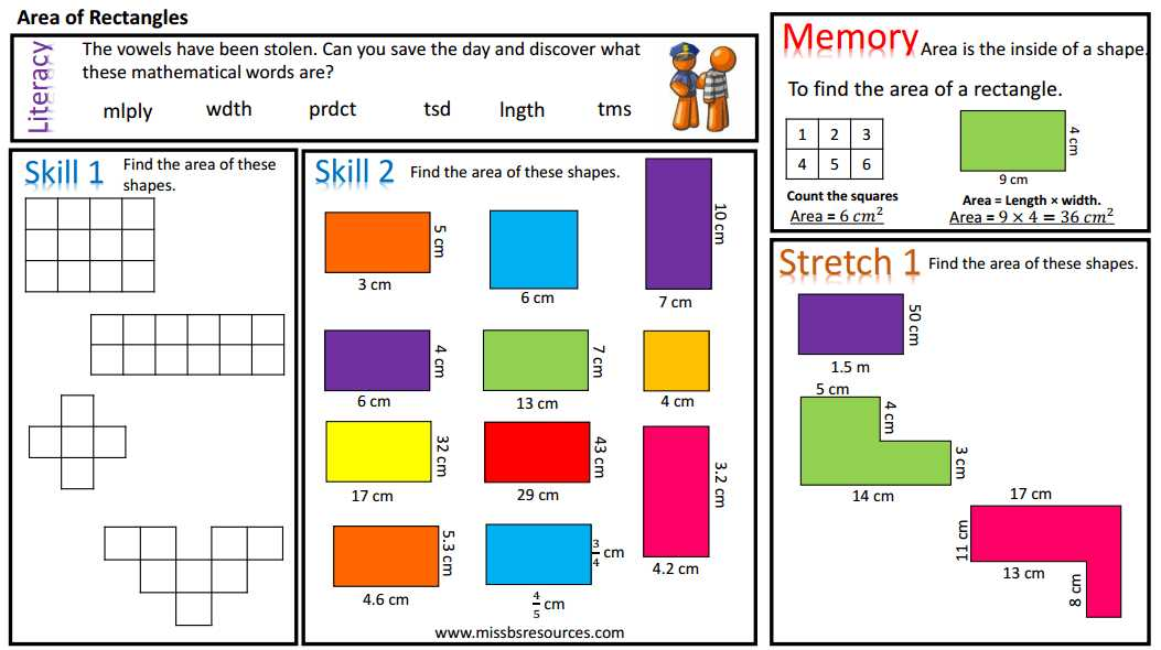 3rd Grade Geometry Worksheets and Geometry Maths Differentiated Worksheets