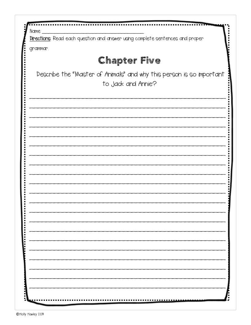 3rd Grade Reading Comprehension Worksheets Multiple Choice Pdf with Sunset Of the Sabertooth A Guided Reading Activity Lesson