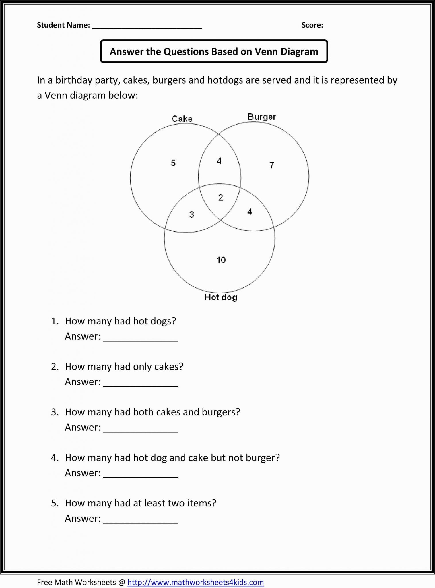 7th Grade Math Word Problems Worksheets or Printable Math Worksheets Foil Method Refrence 1st Grade Math Word