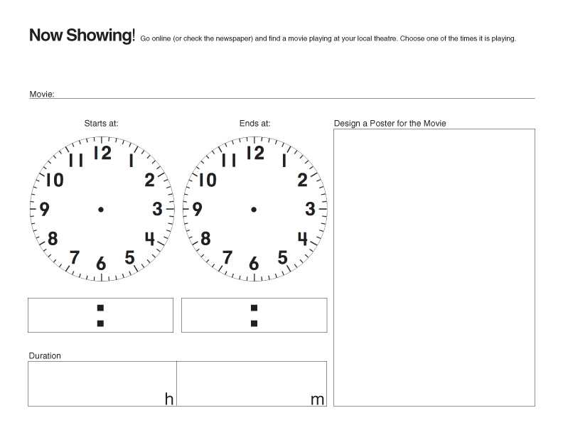 Clock Time Worksheets together with E is for Explore now Showing