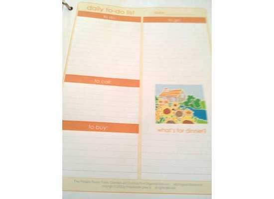 Debt Snowball Worksheet Also Crafty Girl Bliss Family organizational Binder