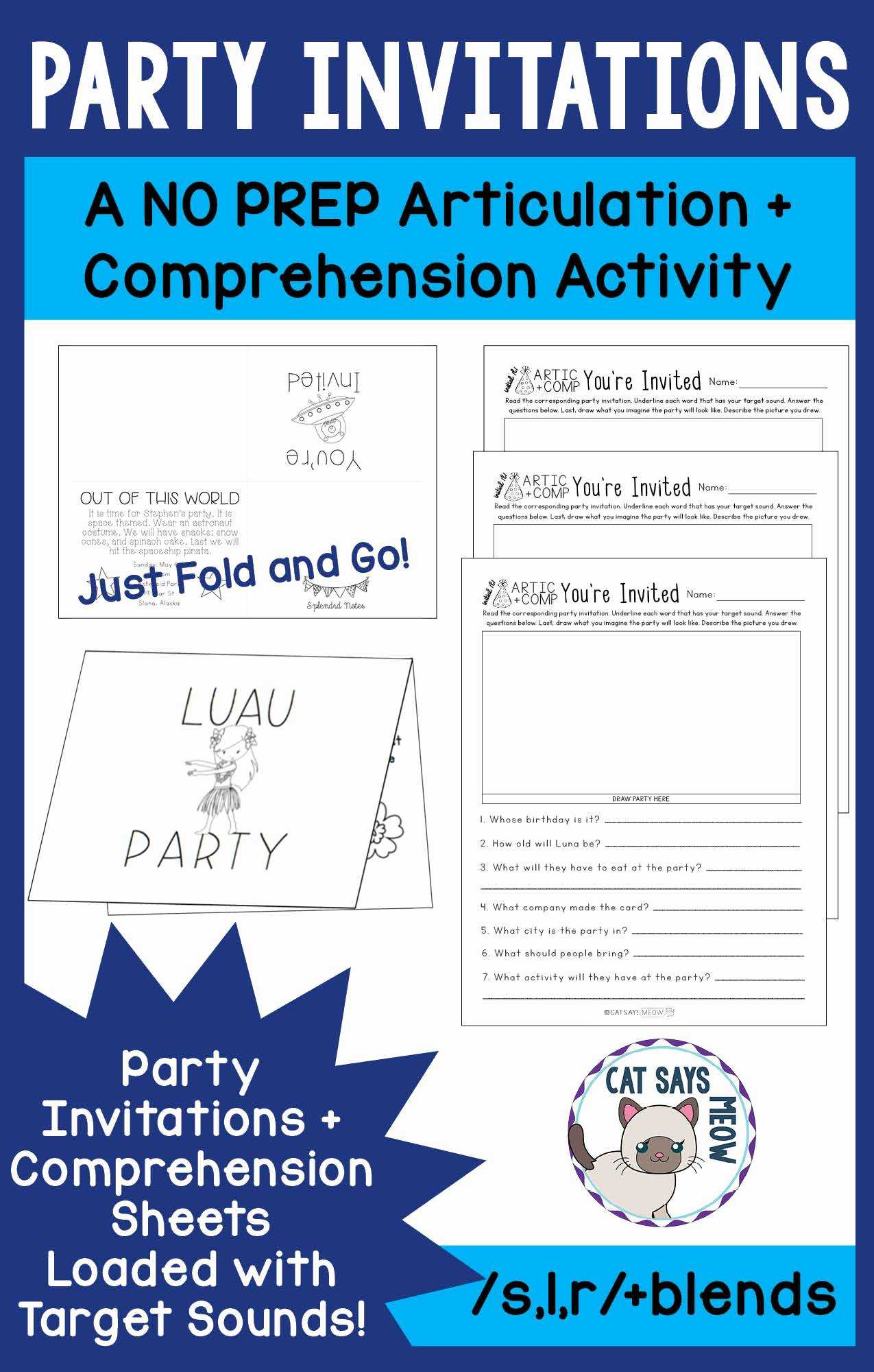 Food Chains and Webs Worksheet together with Free Food Worksheets with Party Invitations A No Prep Artic Reading