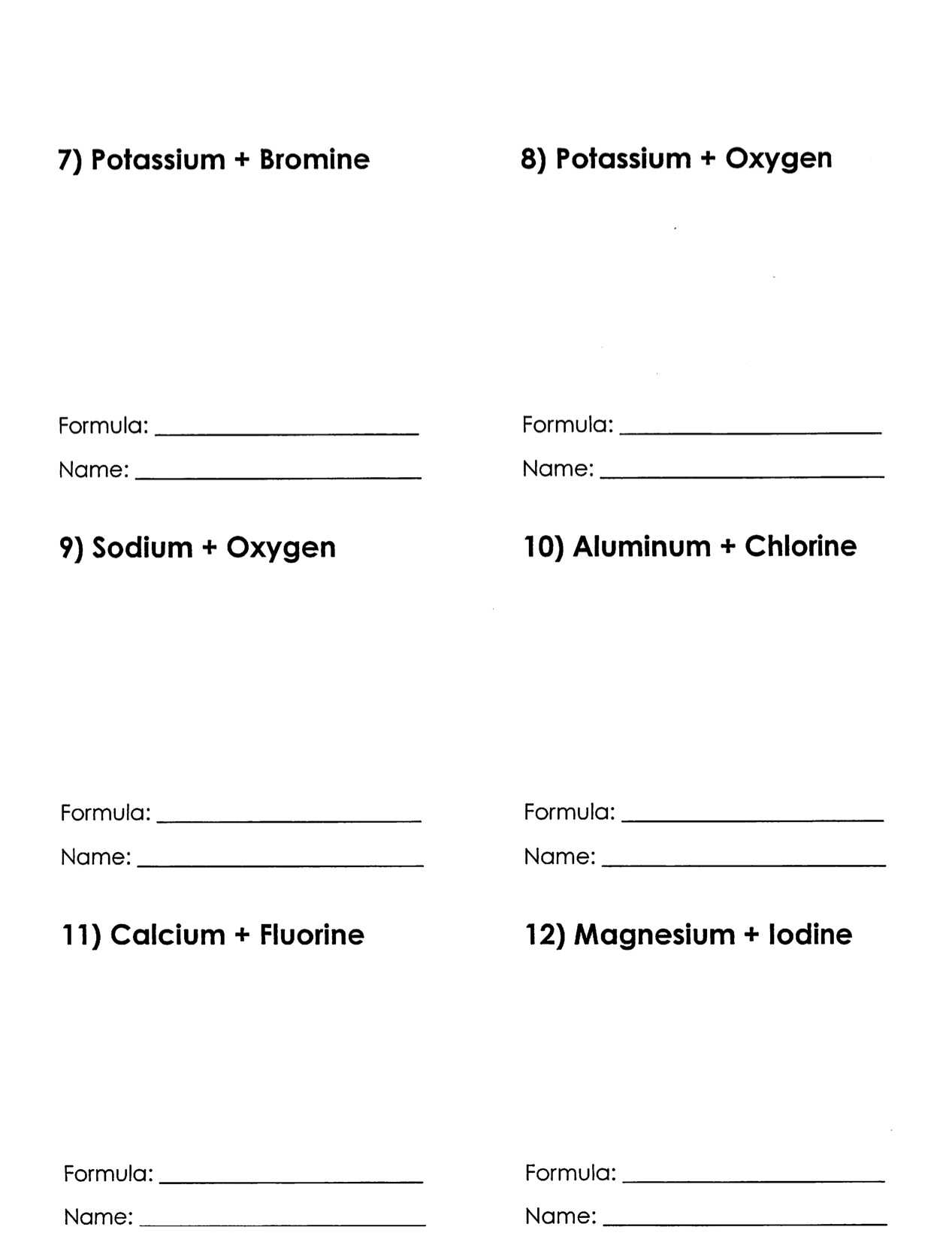 Ionic Bond Practice Worksheet Answers Along with Christopher White Warren County Public Schools