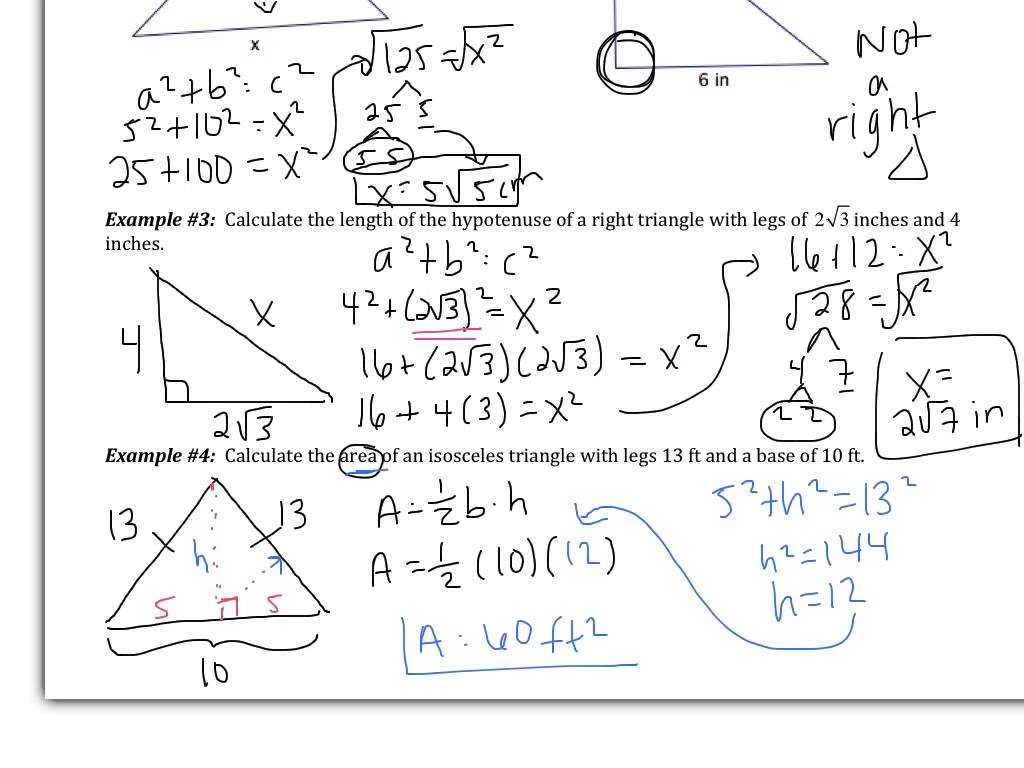 Motion In One Dimension Worksheet Answers as Well as Worksheets Pythagorean theorem Super Teacher Worksheets