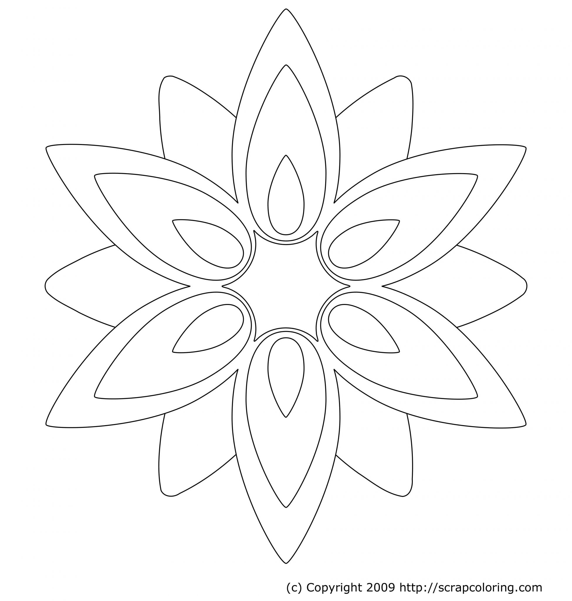 Parts Of A Flower Worksheet together with Geometric Flower Coloring Worksheet & Coloring Pages