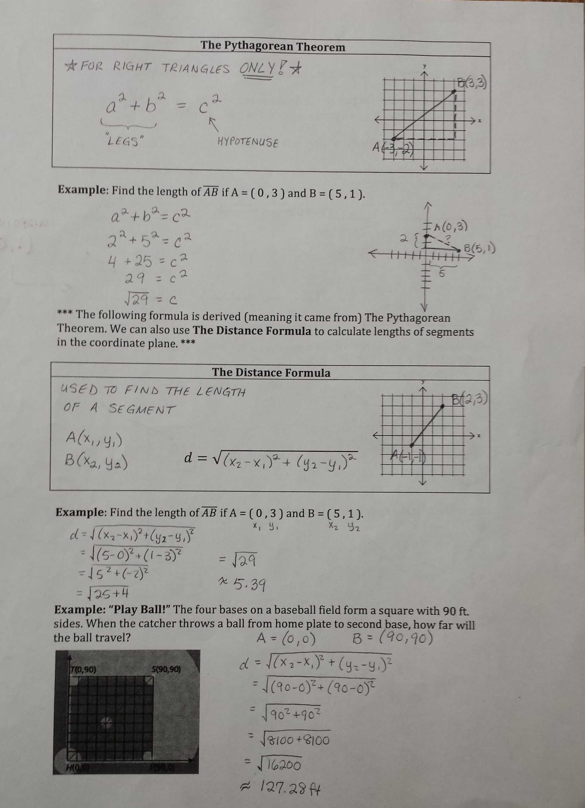 Proving Parallel Lines Worksheet with Answers as Well as Worksheet Distance formula Worksheet Review Distance formula