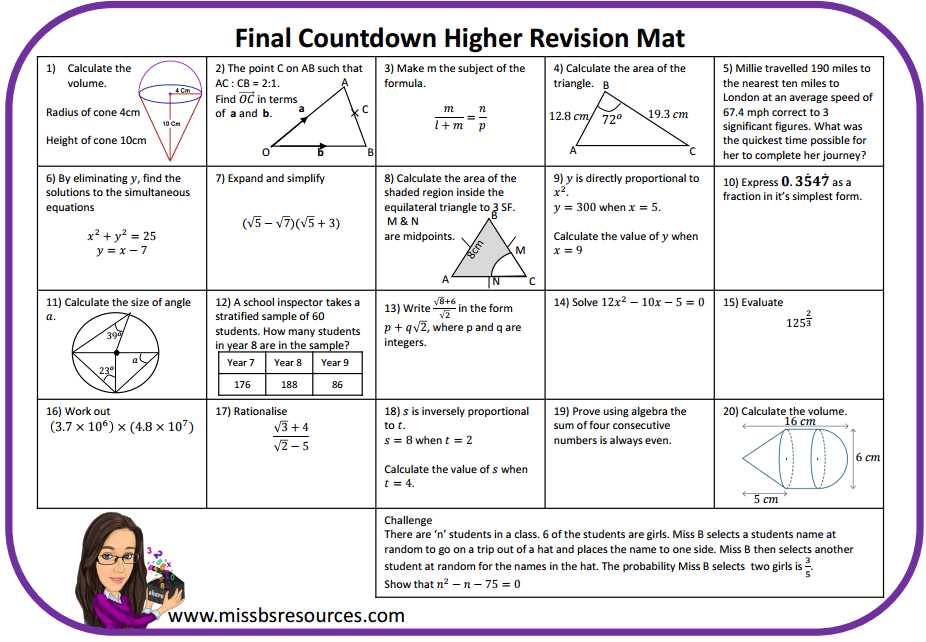Rotations Practice Worksheet or Maths Revision Mats