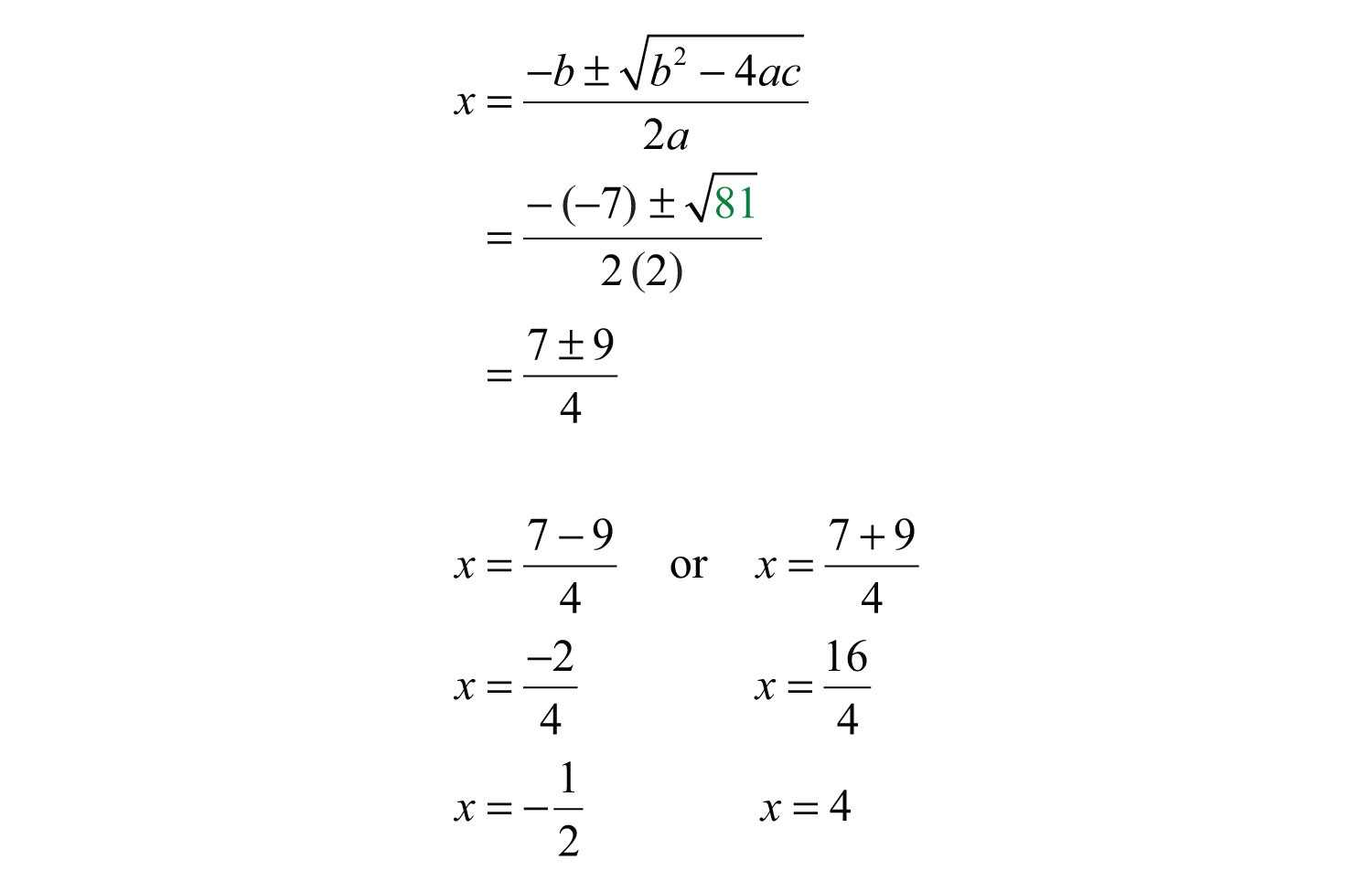 Simplifying Square Roots Worksheet Answers Also Guidelines for solving Quadratic Equations and Applications