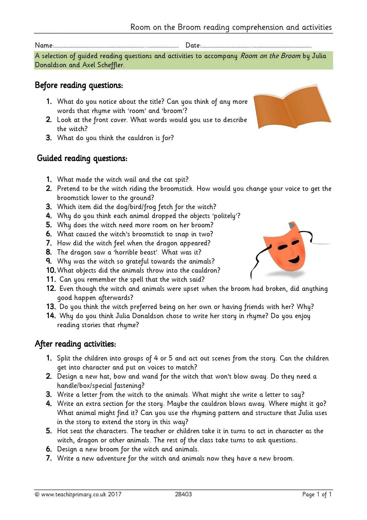 Skills Worksheet Directed Reading A Answer Key Together