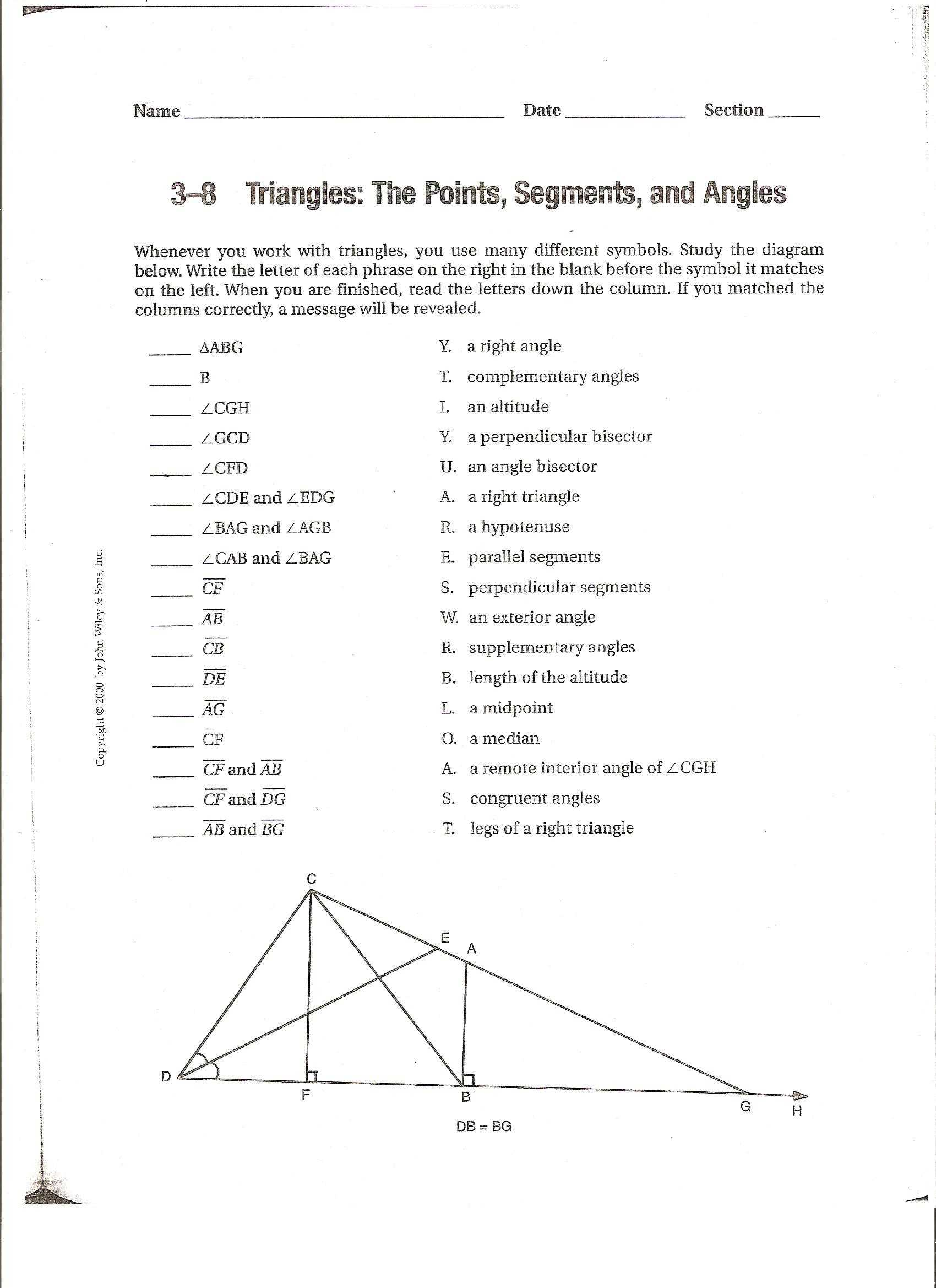 Trigonometry Finding Angles Worksheet Answers As Well As
