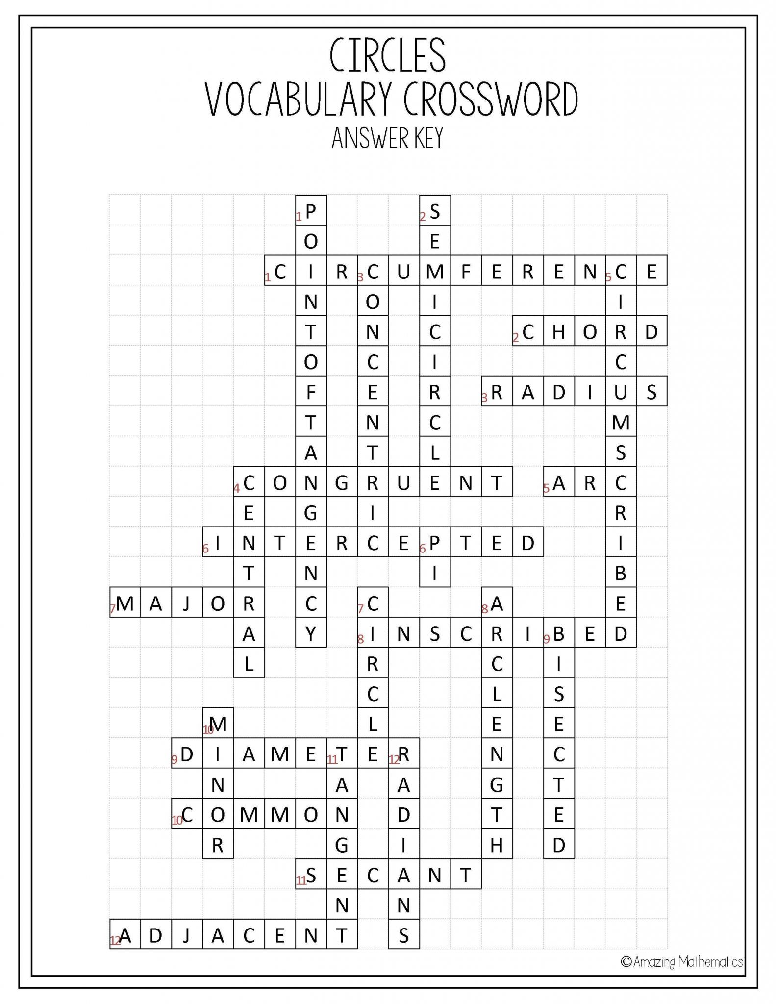 Trigonometry Practice Worksheets With The Coordinate Grid