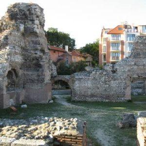 Roman baths in Varna,