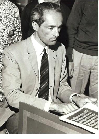 Gustav Leonhardt in 1972
