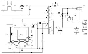 STRW6750F |Sanken Electric