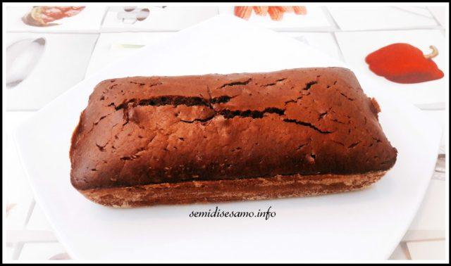 plumcake al cioccolato e caffè