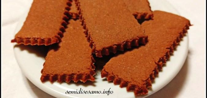 Biscotti al cacao senza burro e senza uova 2