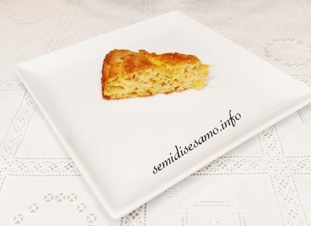 torta di mele all'olio EVO