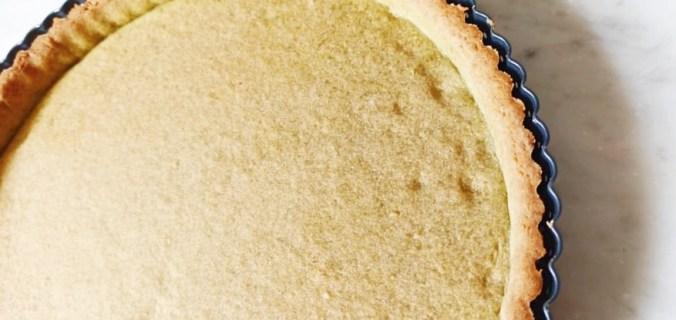 Pasta frolla al The Matcha per biscotti e crostate colorati